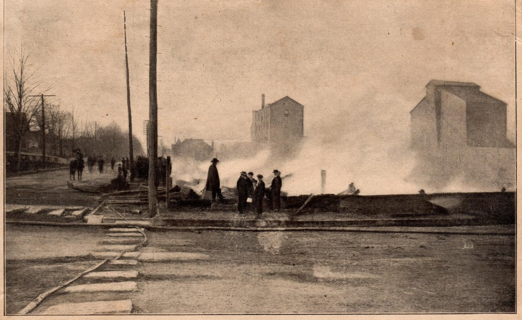 Burned Warehouses 1907